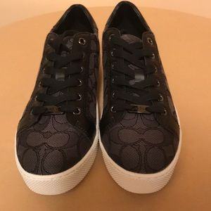 COACH Paddy Sneaker Signature C Leather NEW